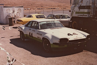 Having recently left Broadspeed where I built V12 Jag engines I was interested to see the Bob Tuliuos XJS Trans Am car competing there.