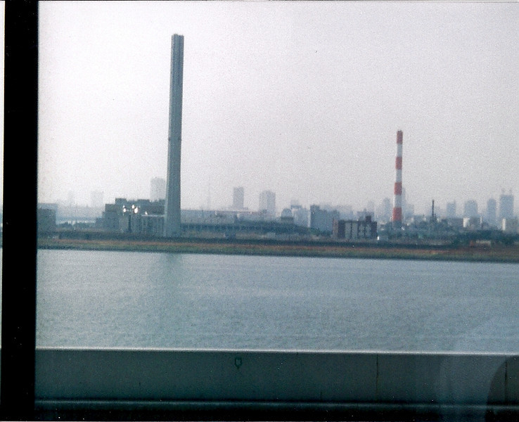The bus ride from The airport up to Mito was a couple of hours and here we see Tokyo off in the distance
