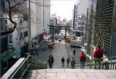 In the center of Mito
