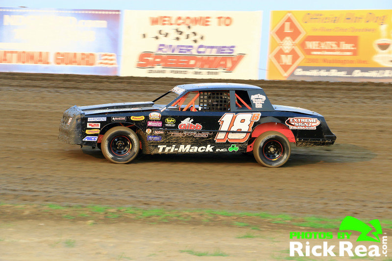 Matt Beehler WISSOTA Street Stock at The World Famous Legendary Bullring River Cities Speedway