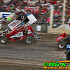 Wade Nygaard Passing For The Lead At The World Famous Legendary Bullring