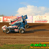 Outlaw Sprint Car Hot Laps At The Legendary Bullring River Cities Speedway