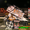 Austin Pierce in RydellCars.com Victory Lane at River Cities Speedway