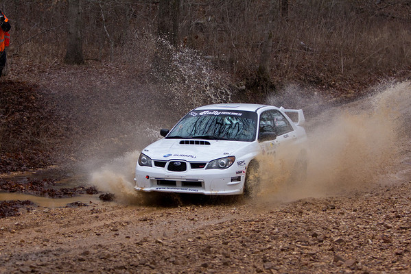 100 Acre Wood Rally 2011