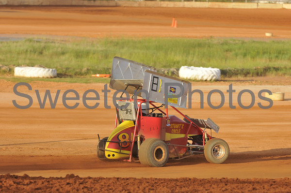 Mini Sprint at the New Hendry County Speedway 4/12/08