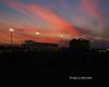 Infield sunset