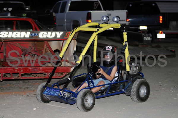Women and GoKart at the New Hendry County Speedway 5/18/08