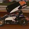 Chad Criswell at the Kasey Khane 360 Challenge race at Williams Grove 8-5-09.