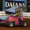Kramer Williamson runs with URC. Here he is at the Kasey Khane 360 Challenge race at Williams Grove 8-5-09.