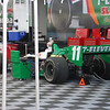 Kanaan's car plugged in