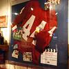 Movie memorabilia inside Bubba Gump Shrimp