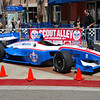 Apparently Dale Coyne is using his old DP-01's as show cars. Frankly, this is where the Dallara should be. And to put Honda and OCS logos on it? Someone get a rope...