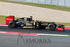 Kimi Raikkonen in the #09 Lotus