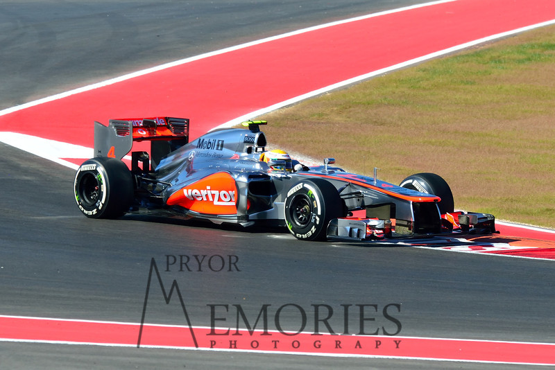 Race winner Lewis Hamilton in the # 04 Vodafone McClaren Mercedes