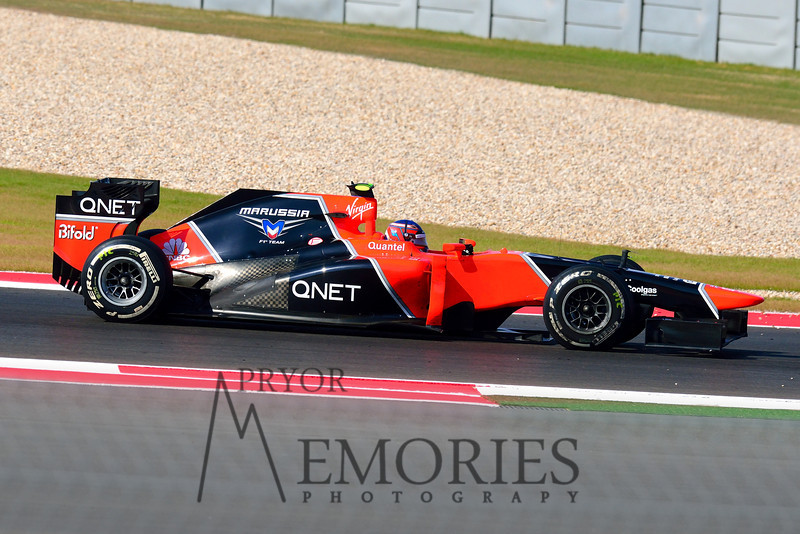 Charles Pic in the #25 Marussia