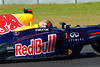 Sabastian Vettel driving the #01 Red Bull Racing F1 car