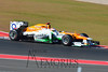 Paul Di Resta in the #11 Sahara Force India car