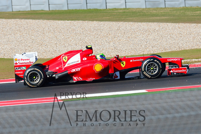 Felipe Massa in the # 06 Scuderia Ferrari