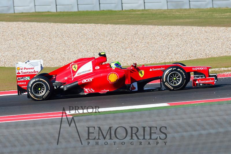 Felipe Massa in the # 06 Scuderia Ferrari