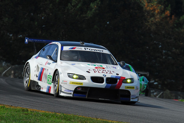 BMW Team RLL at Mid-Ohio, August 2011