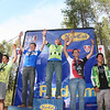 JV Boys D1 Podium, left to right: Justin Herrell (Casa Grande), Skyler Taylor (Tamalpais), Lucas Newcomb (Drake), Justin Herrell (San Rafael HS), and Miles Lim (Drake). (photo: Tim Darwick)