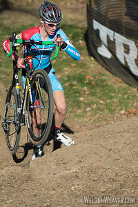 Stephen Bassett (Bob's Red Mill Cyclocross), 17, Knoxville, TN 2012 USGP Louisville.  Photo by Weldon Weaver.