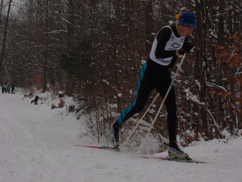 Top junior in the 6km classic race: J2 Ross Williams of Williamsburg.