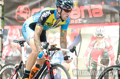 Adam Myerson.  August 7, 2011 Crossroads Classic Stage 5 Criterium Salisbury, NC. Photo by Weldon Weaver