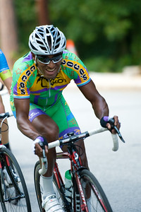 August 7, 2011 Crossroads Classic Stage 5 Criterium Salisbury, NC. Photo by Weldon Weaver