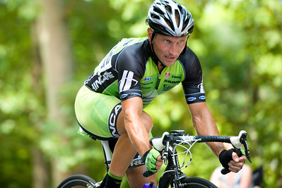 Chris Harkey. August 7, 2011 Crossroads Classic Stage 5 Criterium Salisbury, NC. Photo by Weldon Weaver