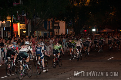 Huge crowds line the course of the 2012 Terrapin Twilight Criterium.