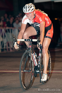 Erica Allar (RideClean-Parentit.com) wins the sprint at the 2012 Terrapin Twilight Womens Race.