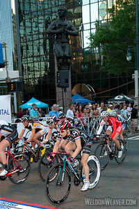 2012 Presbyterian Hospital Charlotte Criterium Women's Race. Debbie Milne