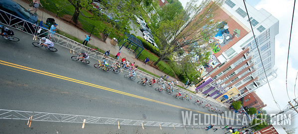 The 2012 NoDa Gran Prix in Charlotte, NC.  Photo by Weldon Weaver.
