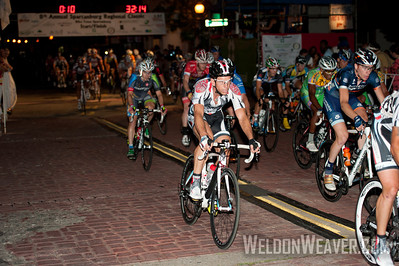 Emile Abraham (Rossetti Devo Cycling Team) rides the pave. 2012 Spartanburg Regional Classic.