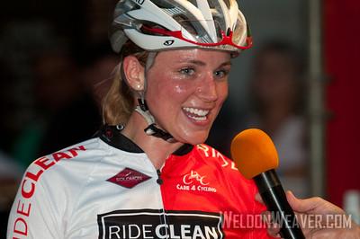 Erica Allar (Rideclean / Patentit.Com) winner of the 2012 Spartanburg Regional Classic.