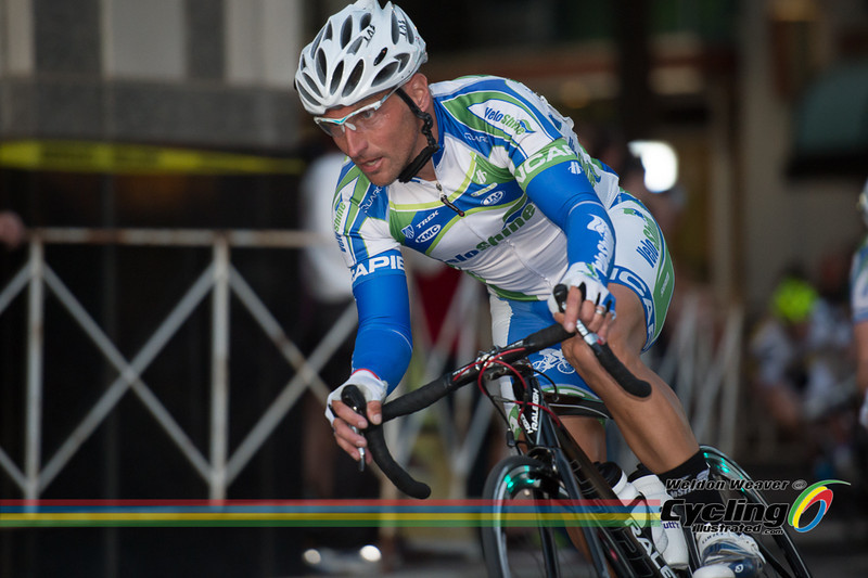 2013 Presbyterian Invitiational Criterium.  Photo by Weldon Weaver.  Local favorite Chris Harkey.