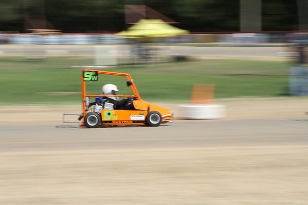 Go-Kart Racing at Speedway Park, Fruitland Park, Fla.