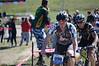 Chris Bennett leads the varsity race at the East Garrison Prologue (photo: Ian Billings)