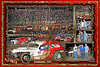 24 X 36  9 -1 - 2013  Vintage Bethany MO Clevenger WINNER Horizontal  background red  burnt edges 2013