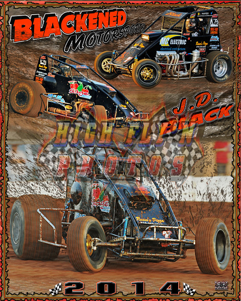 2013  JD Black Midget Sprint 2014