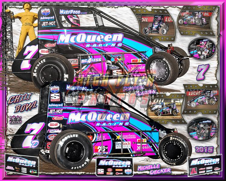 2015  McQueen Racing POSTER