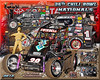 2012 POSTER Chili Bowl Kevin Swindell 3 Time Champion