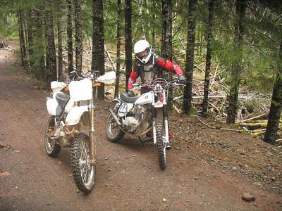 Honda 350 rides