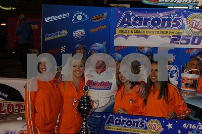 Hooters Pro Cup at Peach State Speedway 4/16/05