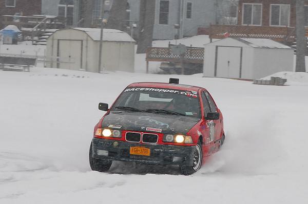 Ice Racing on Waneta Lake, NY - February 2011