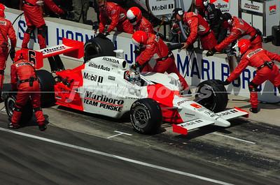 2006 Indy 500 - Sam Hornish pit incident