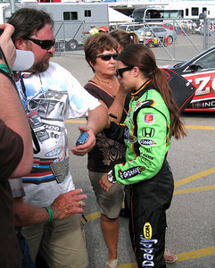 Danica Patrick is shorter than I thought!