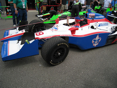 Alex Lloyd's car.  My friend Mike is an engineer for the Dale Coyne racing team.