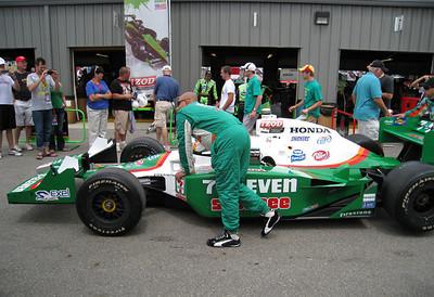Tony Kanaan's car.  This car won the race!